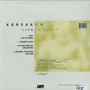 korsakow - live in paris-ltd
