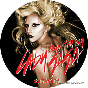 lady gaga - BORN THIS WAY, red vinyl (white)