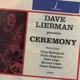 liebman,dave ceremony