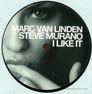 marc van linden ft. steve murano - i like it (repressed) (black plastik)
