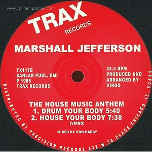 marshall jefferson - The House Music Anthem