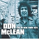 mclean,don live in new york 1971
