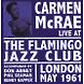 mcrae,carmen live at the flamingo jazz club