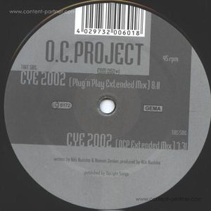 o.c.project - close your eyes 2002 (back in) (edm)