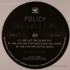 policy - one last time (flaty dl / tom trago mixe (rush hour)