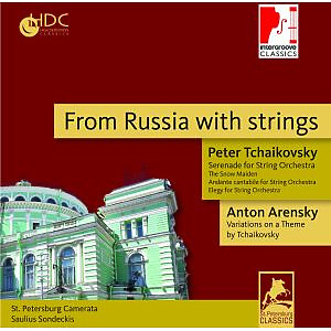 st.petersburg camerata - from russia with strings (intergroove)