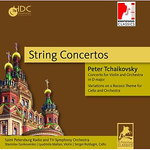 st.petersburg radio and tv symphony orch - string concertos (intergroove)