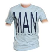 supa-tshirt-hellblau-the-man-flockdruck-m