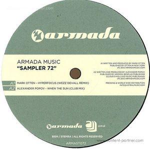 various (mark otten, gabriel & dresden.. - armada music sampler 72 (a. popov) (armada)