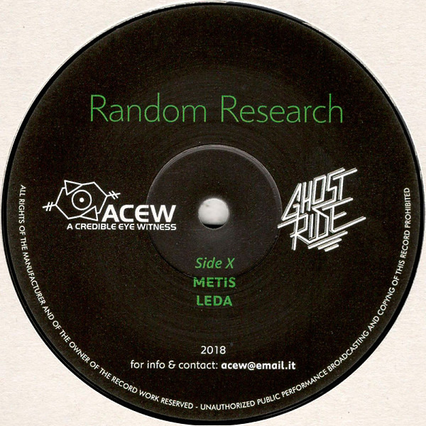 A Credible Eye Witness & Ghost Ride - Random Research