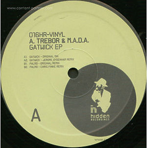 Alejandro Trebor & M.A.D.A. (REPRESS) - Gatwick Ep (Jerome Sydenham Remix)