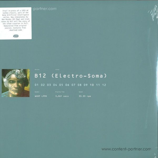 B12 - Electro-Soma (Remastered 2LP+MP3+Poster/Gatefold)
