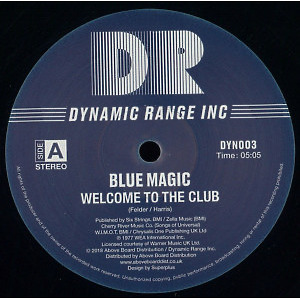 BLUE MAGIC - WELCOME TO THE CLUB / LOOK ME UP (INC. TOM MOULTON
