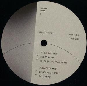 Benedikt Frey - Artificial (Remixed)
