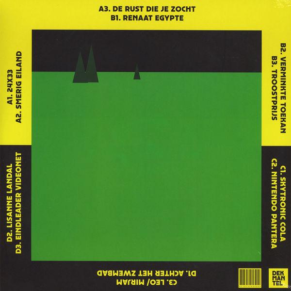 Betonkust & Palmbomen II - Center Parcs LP (Back)