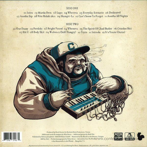 Brenk Sinatra - Gumbo II: Pretty Ugly / Lost Tapes (Ltd.2LP+MP3) (Back)