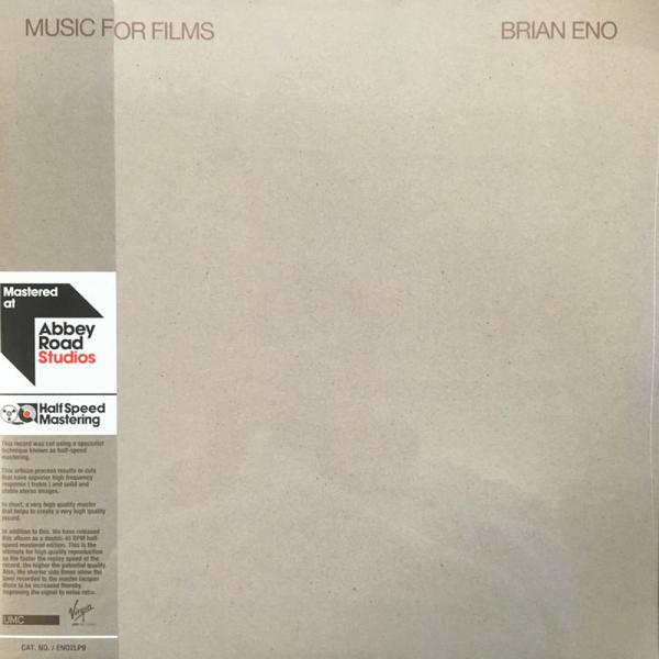 Brian Eno - Music For Films (Ltd. Halfspeed Master 2LP)