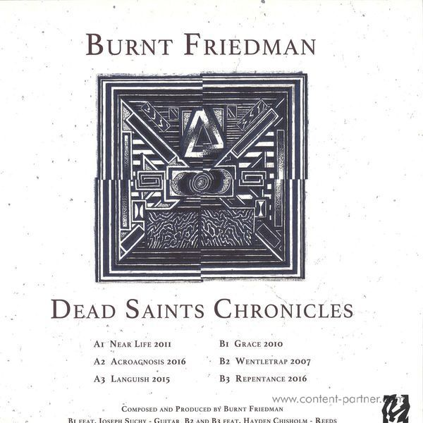 Burnt Friedman - Dead Saints Chronicles (Vinyl Only, 180g) (Back)