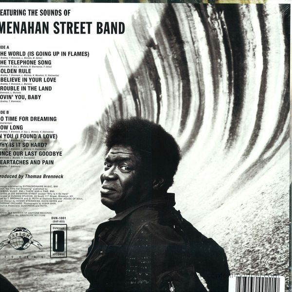 Charles Bradley - No Time For Dreaming (Back)