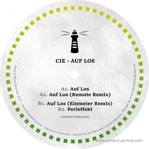 Cie - Auf Los (incl. Remute & Einmeier Remixes)