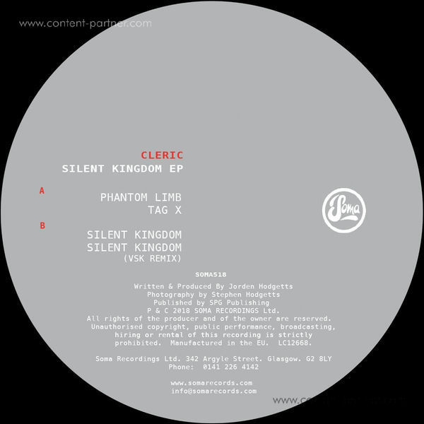 Cleric - Silent Kingdom EP (Back)