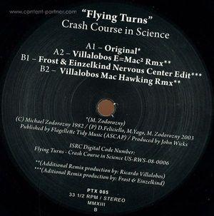 Crash Course In Science - Flying Turns (Black Vinyl)