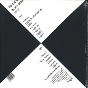 DIRK DESAEVER - COLLECTED 1984-1989 (LONG PLAY) (Back)
