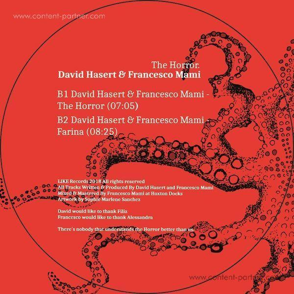 David Hasert & Francesco Mami - Nina / The Horror (Back)