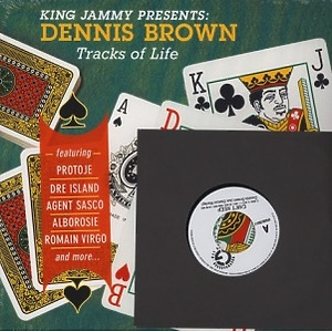 Dennis Brown - Tracks Of Life (King Jammy Presents) (LP+7'')