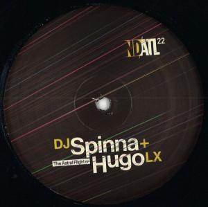 Dj Spinna & Hugo LX - The Astral Flight EP