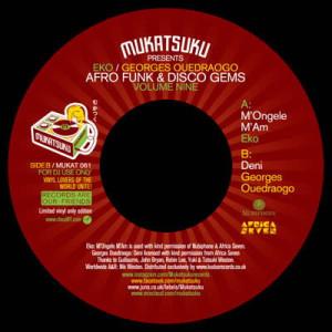 EKO & Georges Ouedraogo - Afro Funk & Disco Gems Vol.9