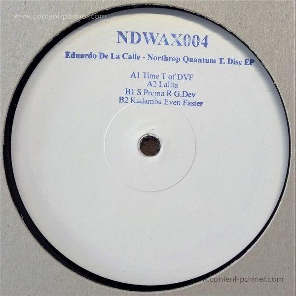 Eduardo De La Calle - Northrop QuantumT.DiscEP (Back)