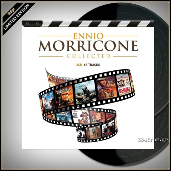 Ennio Morricone - Collected (Ltd. 180g Gold Vinyl 2LP)