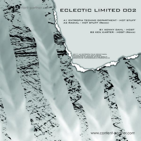 Entropia Techno Department / Kenny Dahl - Eclectic Limited 002 (Ken Karter & Radial Remixes) (Back)