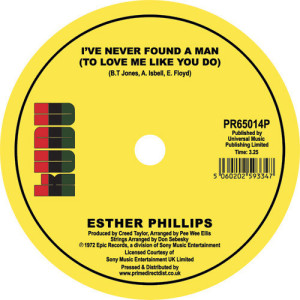 Esther Phillips - Home Is Where the Hatred Is / I've Never Found a M (Back)