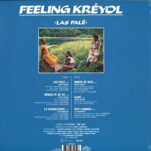 Feeling Kreyol - Las Palé (LP reissue) (Back)