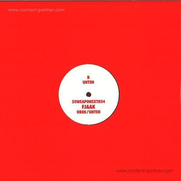 Fjaak - Oben / Unten (White Label 12'') (Back)
