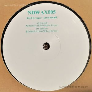 Fred Kreeger - sprachenm8 (incl. Pablo Mateo/Ron Wilson Remixes)