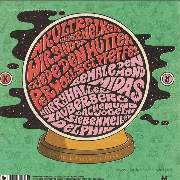 Goldroger - AVRAKADAVRA (Gatefold/LP+WAV) (Back)