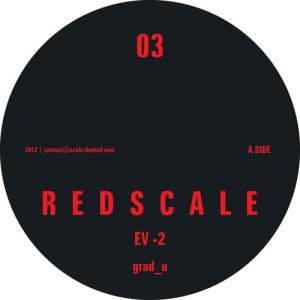Grad_U - Redscale 03 (BLACK VINYL)