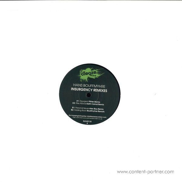 Hans Bouffmyhre - Insurgency Remixes (Back)