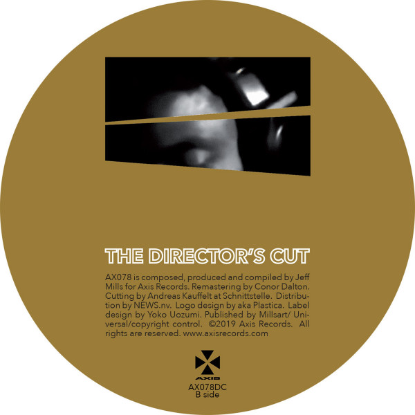 JEFF MILLS - THE DIRECTOR'S CUT CHAPTER 1