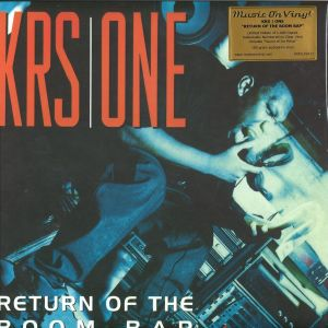 KRS One - Return Of The Boom Bap (Ltd.Gold 2LP+7