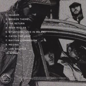 Kamaal Williams - The Return (180g LP + Mp3) (Back)