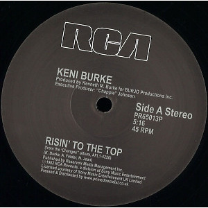 Keni Burke - Risin' to the Top / You're the Best (12 Inch Mix)