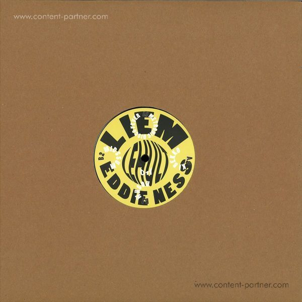 Liem & Eddie Ness - Metronic Disco Fever (Back)