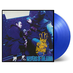 Lords Of The Underground - Keepers Of The Funk (Ltd. Blue trans. 2LP)