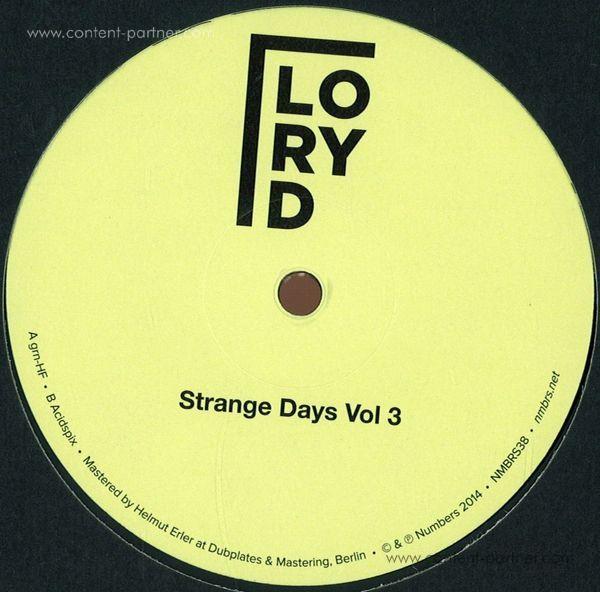 Lory D - Strange Days Vol. 3 (Repress 2017)