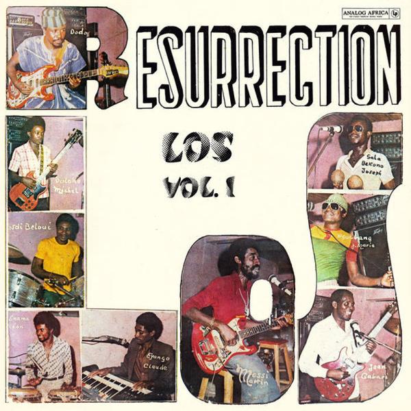 Los Camaroes - Resurrection Los Vol. 1 (LP Reissue)