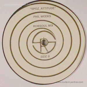 Mehdispoz - Spoz Attitude (Phil Weeks Rmx) [re-issue